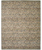 RugStudio presents Nourison Rhapsody Rh012 Blue Moss Machine Woven, Good Quality Area Rug
