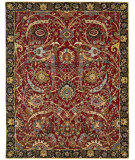 RugStudio presents Nourison Rhapsody Rh015 Red Machine Woven, Good Quality Area Rug