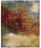 RugStudio presents Nourison Rhapsody Rh016 Autumn Machine Woven, Good Quality Area Rug