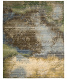 RugStudio presents Nourison Rhapsody Rh016 Ocean Machine Woven, Good Quality Area Rug