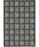 RugStudio presents Nourison Home and Garden RS-013 Black Machine Woven, Good Quality Area Rug