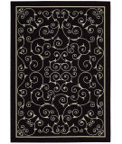 RugStudio presents Nourison Home and Garden RS-019 Black Machine Woven, Good Quality Area Rug