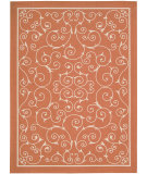 RugStudio presents Nourison Home and Garden RS-019 Orange Machine Woven, Good Quality Area Rug