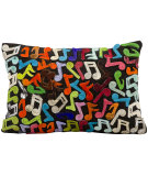 RugStudio presents Nourison Pillows Natural Leather Hide S1120 Multicolor