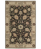 RugStudio presents Nourison Nourmak S169 Black Hand-Knotted, Good Quality Area Rug