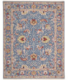 RugStudio presents Nourison Nourmak S172 Blue Flat-Woven Area Rug