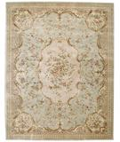RugStudio presents Nourison Chateau Provence SB-06 Sage Hand-Tufted, Best Quality Area Rug