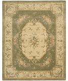 RugStudio presents Nourison Chateau Provence SB-08 Olive Hand-Tufted, Best Quality Area Rug