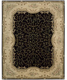 RugStudio presents Nourison Chateau Provence SB-11 Black Hand-Tufted, Best Quality Area Rug