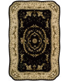 RugStudio presents Nourison Serenata SE-14 Black Hand-Tufted, Best Quality Area Rug