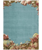 RugStudio presents Nourison Shoreline SH-001 Aqua Machine Woven, Better Quality Area Rug