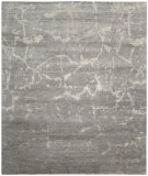 RugStudio presents Nourison Silk Shadows Sha02 Silver Hand-Knotted, Best Quality Area Rug