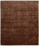 RugStudio presents Nourison Silk Shadows Sha03 Rust Hand-Knotted, Best Quality Area Rug