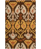 RugStudio presents Rugstudio Sample Sale 72053R Chocolate Hand-Tufted, Best Quality Area Rug