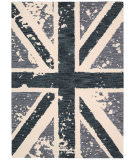 RugStudio presents Nourison Siam Sia09 Charcoal Hand-Tufted, Good Quality Area Rug