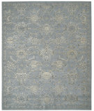 RugStudio presents Nourison Silk Infusion Sif01 Blue Machine Woven, Good Quality Area Rug