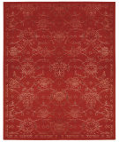 RugStudio presents Nourison Silk Infusion Sif01 Red Machine Woven, Good Quality Area Rug