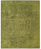 RugStudio presents Nourison Silk Infusion Sif02 Green Machine Woven, Good Quality Area Rug