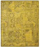 RugStudio presents Nourison Silk Infusion Sif02 Yellow 605 Machine Woven, Good Quality Area Rug