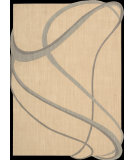 RugStudio presents Nourison Silhouettes SIL-03 Beige Machine Woven, Good Quality Area Rug