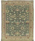 RugStudio presents Nourison Nourmak SK-28 Green Flat-Woven Area Rug