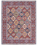 RugStudio presents Nourison Nourmak Sk43 Multi Color Flat-Woven Area Rug