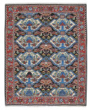 RugStudio presents Nourison Nourmak Sk48 Multi Color Flat-Woven Area Rug