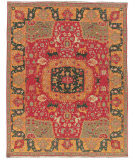 RugStudio presents Nourison Nourmak Sk63 Red Flat-Woven Area Rug
