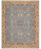 RugStudio presents Nourison Nourmak Sk92 Blue Flat-Woven Area Rug