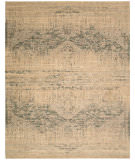 RugStudio presents Nourison Silk Elements Ske27 Beige Machine Woven, Good Quality Area Rug