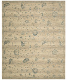 RugStudio presents Nourison Silk Elements Ske28 Beige Machine Woven, Good Quality Area Rug