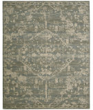 RugStudio presents Nourison Silk Elements Ske30 Azure Machine Woven, Good Quality Area Rug