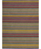 RugStudio presents Rugstudio Sample Sale 72060R Stripe Hand-Tufted, Better Quality Area Rug