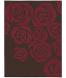 RugStudio presents Nourison Skyland SKY-03 Brown-Red Hand-Tufted, Better Quality Area Rug