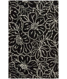 RugStudio presents Nourison Skyland SKY-04 Black-Ivory Hand-Tufted, Better Quality Area Rug