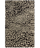 RugStudio presents Nourison Skyland SKY-06 Black-Ivory Hand-Tufted, Better Quality Area Rug