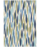 RugStudio presents Nourison Waverly Sun & Shade Snd01 Seaglass Machine Woven, Good Quality Area Rug