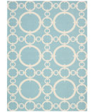 RugStudio presents Nourison Waverly Sun & Shade Snd02 Aquamarine Machine Woven, Good Quality Area Rug