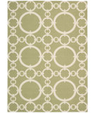 RugStudio presents Nourison Waverly Sun & Shade Snd02 Citron Machine Woven, Good Quality Area Rug