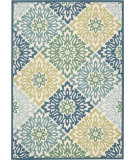 RugStudio presents Nourison Sun And Shade Snd23 Marine Machine Woven, Good Quality Area Rug