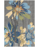 RugStudio presents Nourison South Beach Sou01 Gray Hand-Hooked Area Rug