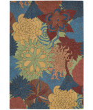 RugStudio presents Nourison South Beach Sou07 Deep Sea Hand-Hooked Area Rug