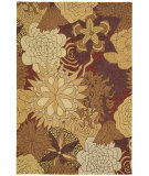 RugStudio presents Nourison South Beach Sou07 Spice Hand-Hooked Area Rug