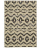 RugStudio presents Nourison Spectrum Spe01 Beige Black Woven Area Rug