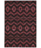 RugStudio presents Nourison Spectrum Spe01 Burgundy Black Woven Area Rug