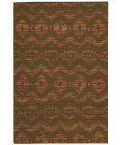 RugStudio presents Nourison Spectrum Spe01 Flame Chocolate Woven Area Rug
