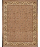RugStudio presents Rugstudio Sample Sale 23441R Peach Machine Woven, Good Quality Area Rug