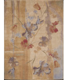 RugStudio presents Nourison Somerset ST-18 Beige Machine Woven, Good Quality Area Rug