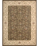 RugStudio presents Nourison Somerset ST-59 Brown Machine Woven, Good Quality Area Rug