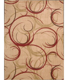 RugStudio presents Nourison Somerset ST-82 Beige Machine Woven, Good Quality Area Rug